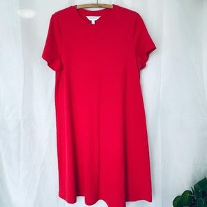 Addition Elle Ribbed tshirt dress